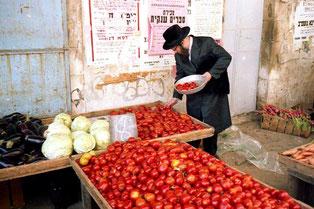 jede einzelne Tomate wird geprüft