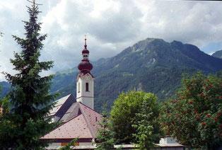 Pfarrkirche in Pfunds: Heiliger Petrus und Paulus