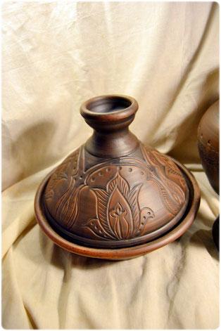 глиняная посуда купить тажин керамический