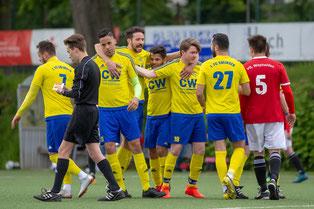 Kann die FC-Elf auch bei der SG Vatanspor wieder jubeln? (Foto: 1. FC Solingen Media Team)