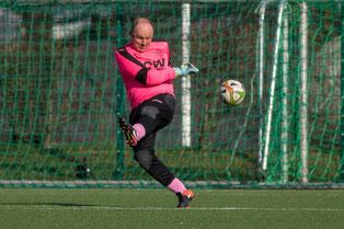 Michael Röttgen im Tor des 1. FC Solingen (Foto: 1. FC Solingen Media Team)
