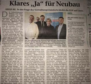 Artikel der Stimberg Zeitung vom 26.2.2018