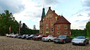 Bocholt Classic Cruise & Meeting, Heister Business Solutions, Schloss Raesfeld, NOSW e.V.