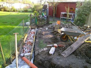 wasseranschluss verlegen unser kleingarten ein kleines. Black Bedroom Furniture Sets. Home Design Ideas