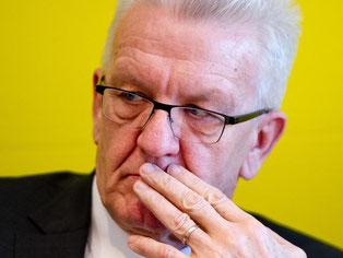 Ministerpräsident Winfried Kretschmann (Grüne). Foto: Daniel Bockwoldt/Archiv