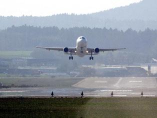 Südbaden leidet unter dem Fluglärm. Foto: Patrick Seeger/Archiv