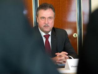 Claus Weselsky: «Die Grundlagen für die nächste Tarifverhandlung sind geschaffen.» Foto: Maurizio Gambarini