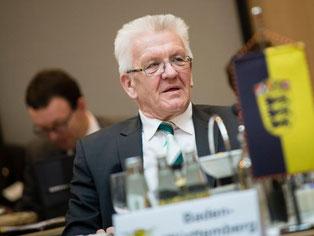 Ministerpräsident Winfried Kretschmann (Grüne). Foto: Gregor Fischer