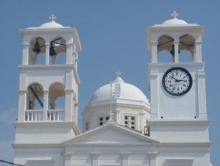 Tripiti church, Milos, Cyclades, Greece.