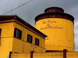La Torre di Castell Rocchero - eine riesige Wein-Fabrik