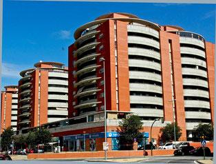 das moderne Sevilla am Stadtrand