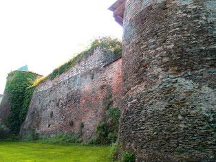 die Original-Stadtmauer aus dem 16. Jhd.