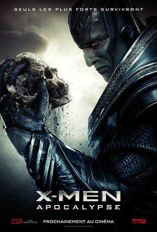 Être ou ne pas être le maître du monde: telle est la question pour Apocalypse (Oscar Isaac) (©20th Century Fox).