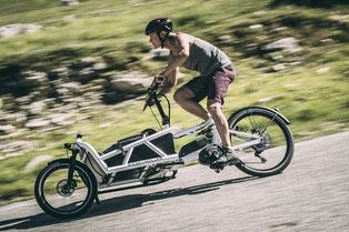 Lasten / Cargo Speed-Pedelecs mit unseren Experten vergleichen, probefahren und kaufen in der e-motion e-Bike Welt Hombrechtikon