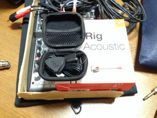 新規格の小型マイク使用のiRigAcoustic