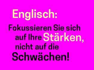 englisch-lernen-schwaechen