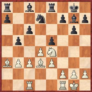 Lehmann - Rahimi,A: Schwarz zog hier etwas selbstmörderisch 15. ... exd4 was Weiß nur die c-Linie öffnet und als Konsequenz den c6 Bauern einstellt