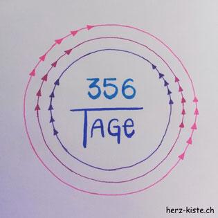 Letterattackchallenge: 356 Tage - Handlettering