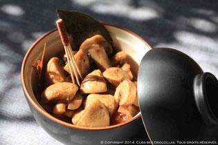 Champignons de Paname à la coriandre et citron vert