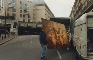Bénévoles à Paris - Chargement des tableaux