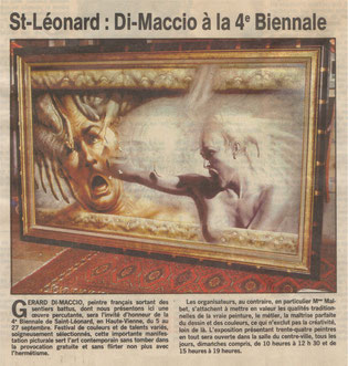 "Article ""Le Populaire"" 02/07/1992"