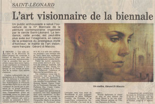 "Article ""La Montagne"" 10/09/1992"
