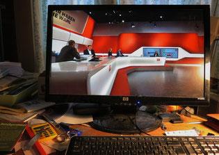Computer, Wahlsendung, Studio