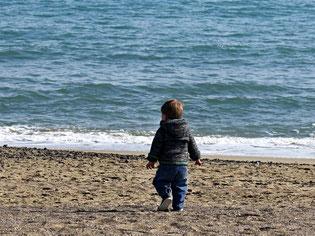 19. März.2016 - Der junge Mann und das Meer