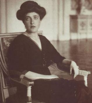 アデーレ・ブロッホ=バウアー。1910年頃。