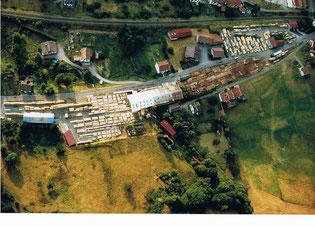 Vue aérienne de la Scierie