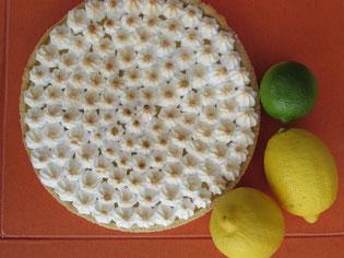 La tarte douce et fondante au citron meringuée