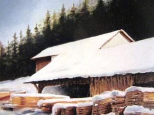 454- La scierie de Sapois