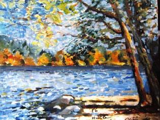 * 205a- Le Lac de Gérardmer, 41 x 33