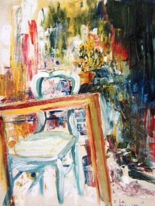 456- Mon premier tableau à l'huile !