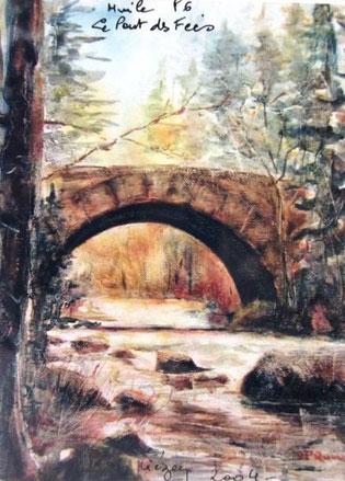 447- Le Pont des Fées à Gérardmer