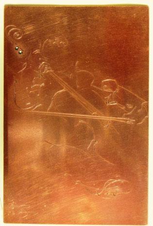 """La plaque gravée de """" Jacques"""""""