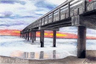 'Pier St. Augustine' by Blake 2014