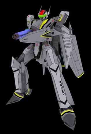頭部だけVF-25F