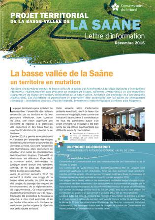 Projet territorial de la Basse Vallée de la Saâne - Lettre d'info n°2