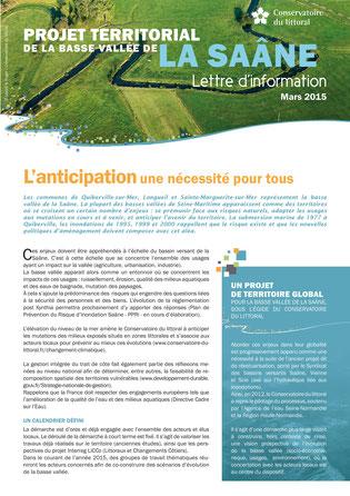 Projet territorial de la Basse Vallée de la Saâne - Lettre d'info n°1
