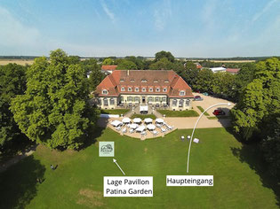 Schloss Kartzow, Pavillon Patina Garden