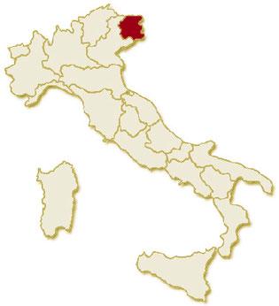 Italia regione Friuli Venezia Giulia