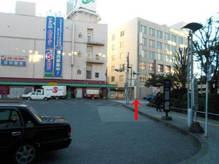 イトーヨーカドー交差点画像