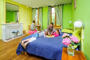 chambres d'hôtes, séjour à la ferme, famille, Picardie, Thiérache