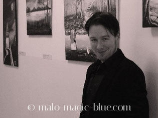 MaLo Magic Blue auf seiner Ausstellung 2012