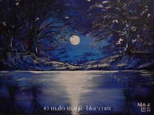 acrylbild, acrylmalerei, baum, bei, blau, blue, bÄume, dunkel, geheimnis, geheimnisvoll, graz, kunst, licht, lorenz, magic, malo, mario, mond, mondlicht, nacht, ruhe, ruhig, schwarz, schÖn, schÖpfung, see, wald, wasser, weiss, wunder, wurzel