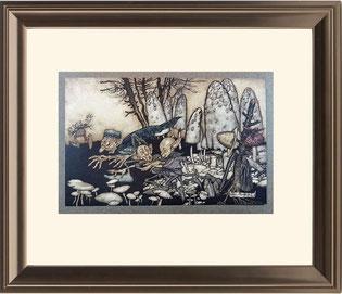 Sample framed landscape