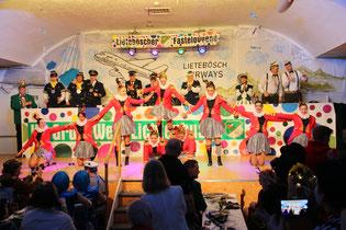 Unsere Showtanzgruppe in der Session 2014/ 2015 (Foto: C. Schmidt)