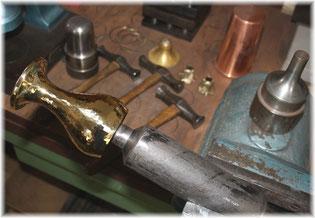 Becher Anfertigung Hammerschlag Pokale