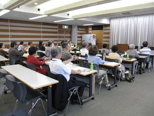福岡市中央区衛生連合会「脳活顔ヨガで活性脳&小顔・若顔」セミナー